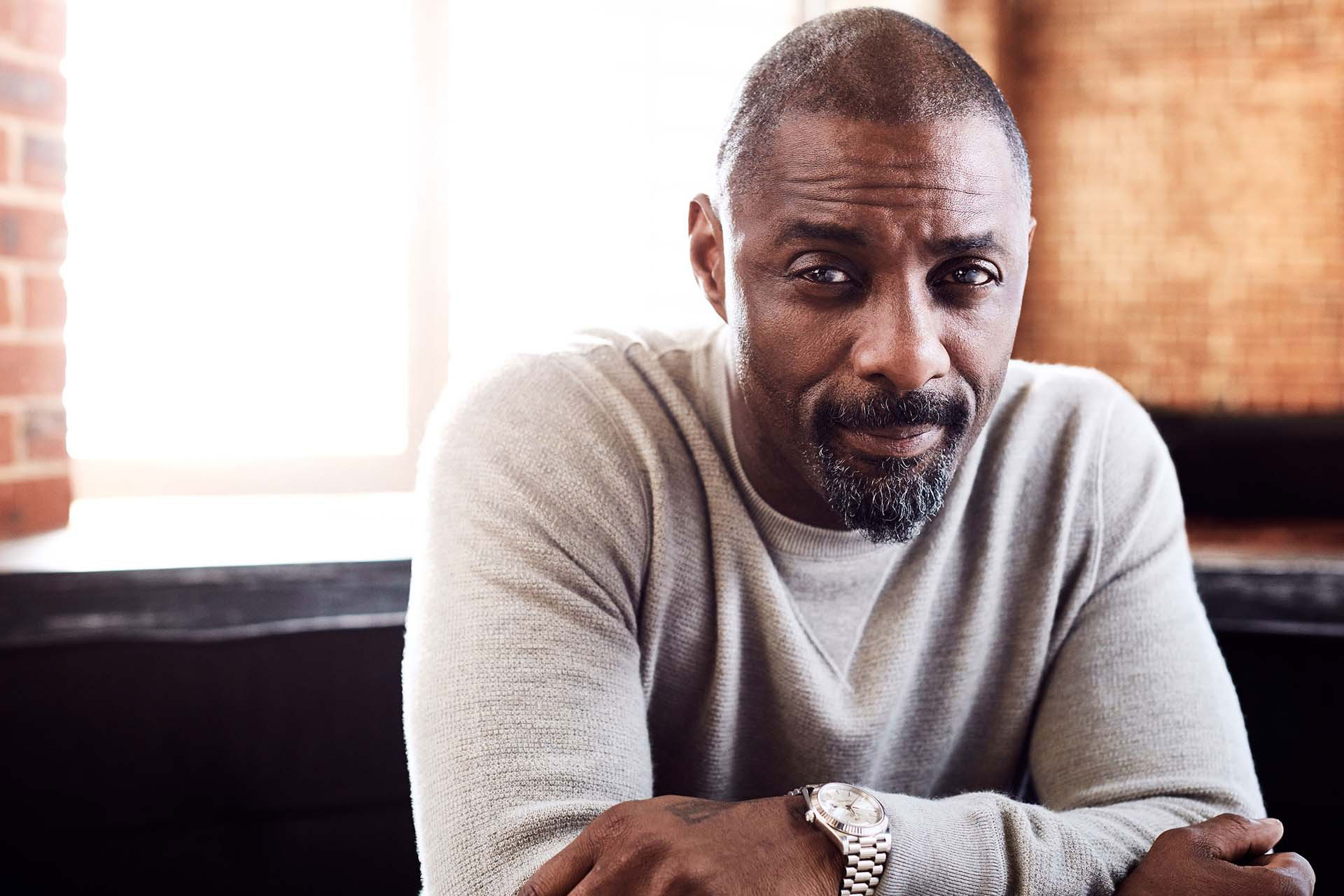 Bonding with Idris Elba