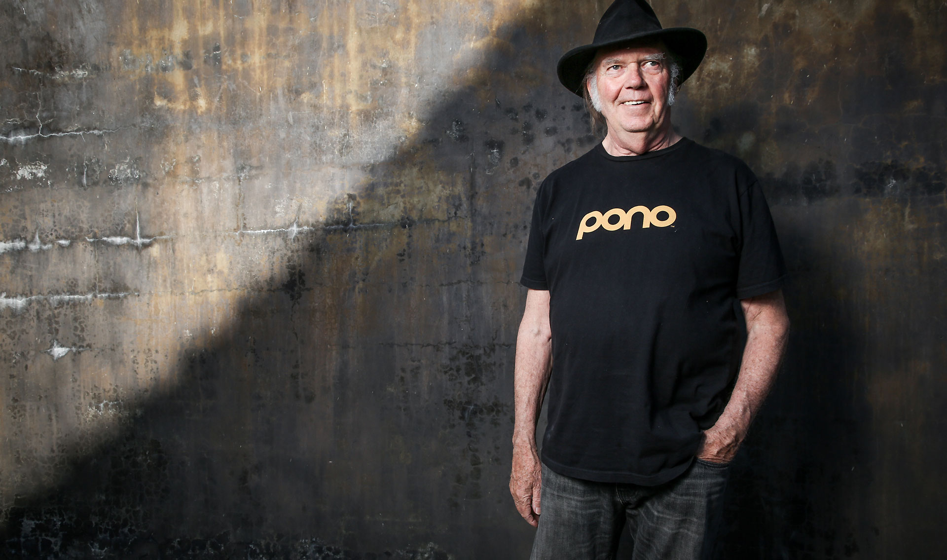 Neil Young an Old Man With a Heart Of Gold